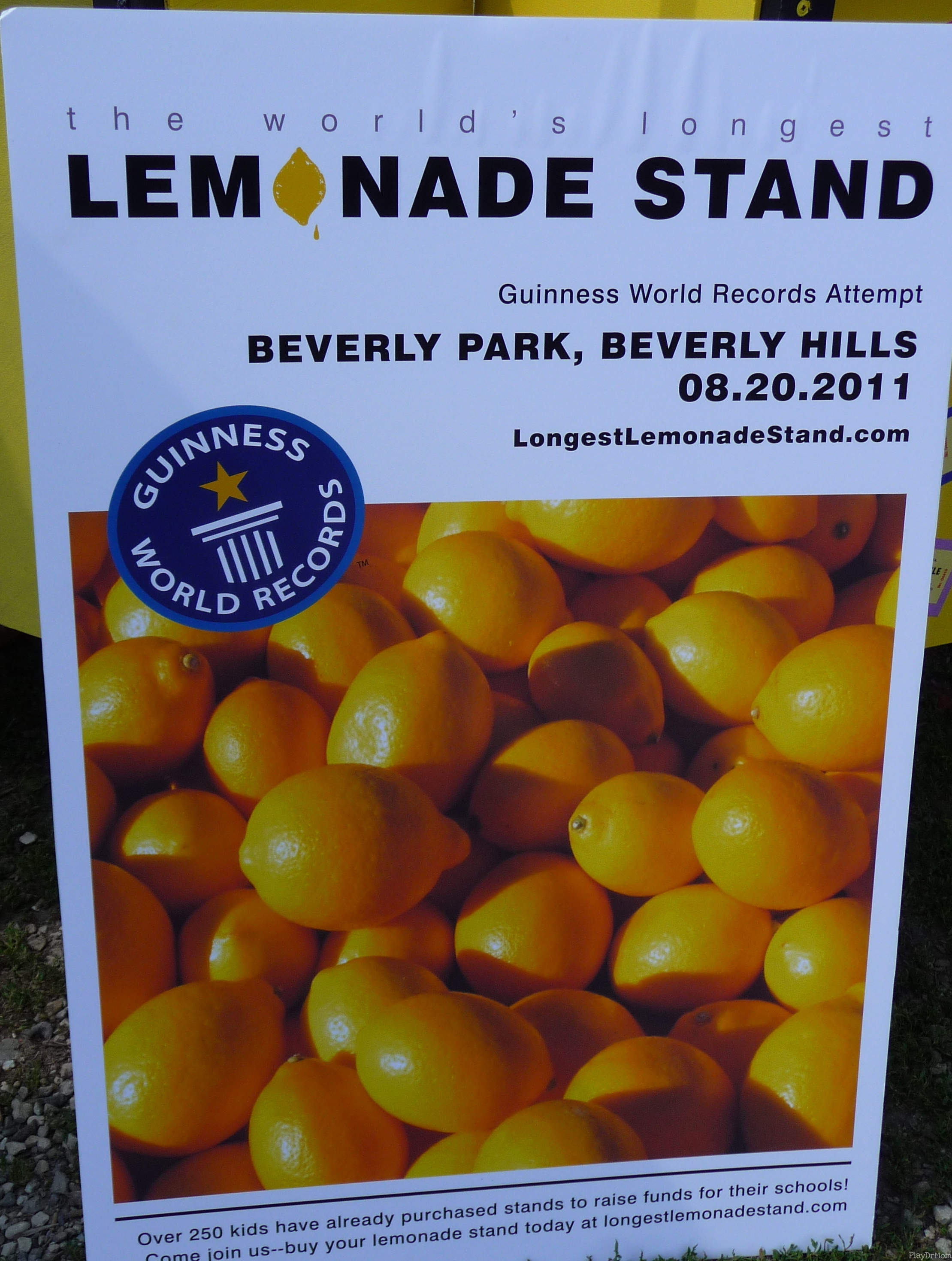 The Longest Lemonade Stand poster