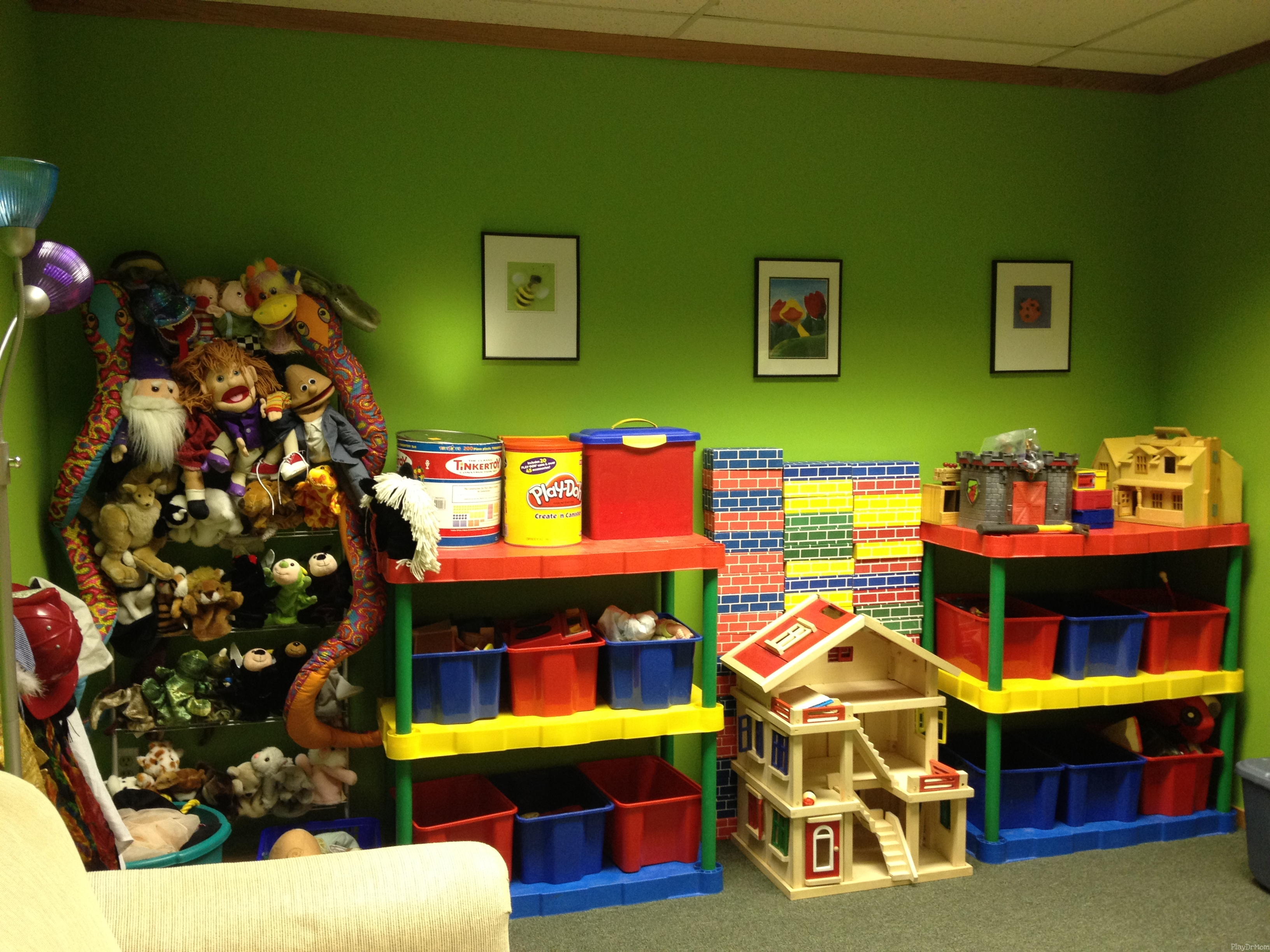 Playroom: Wall of Toys