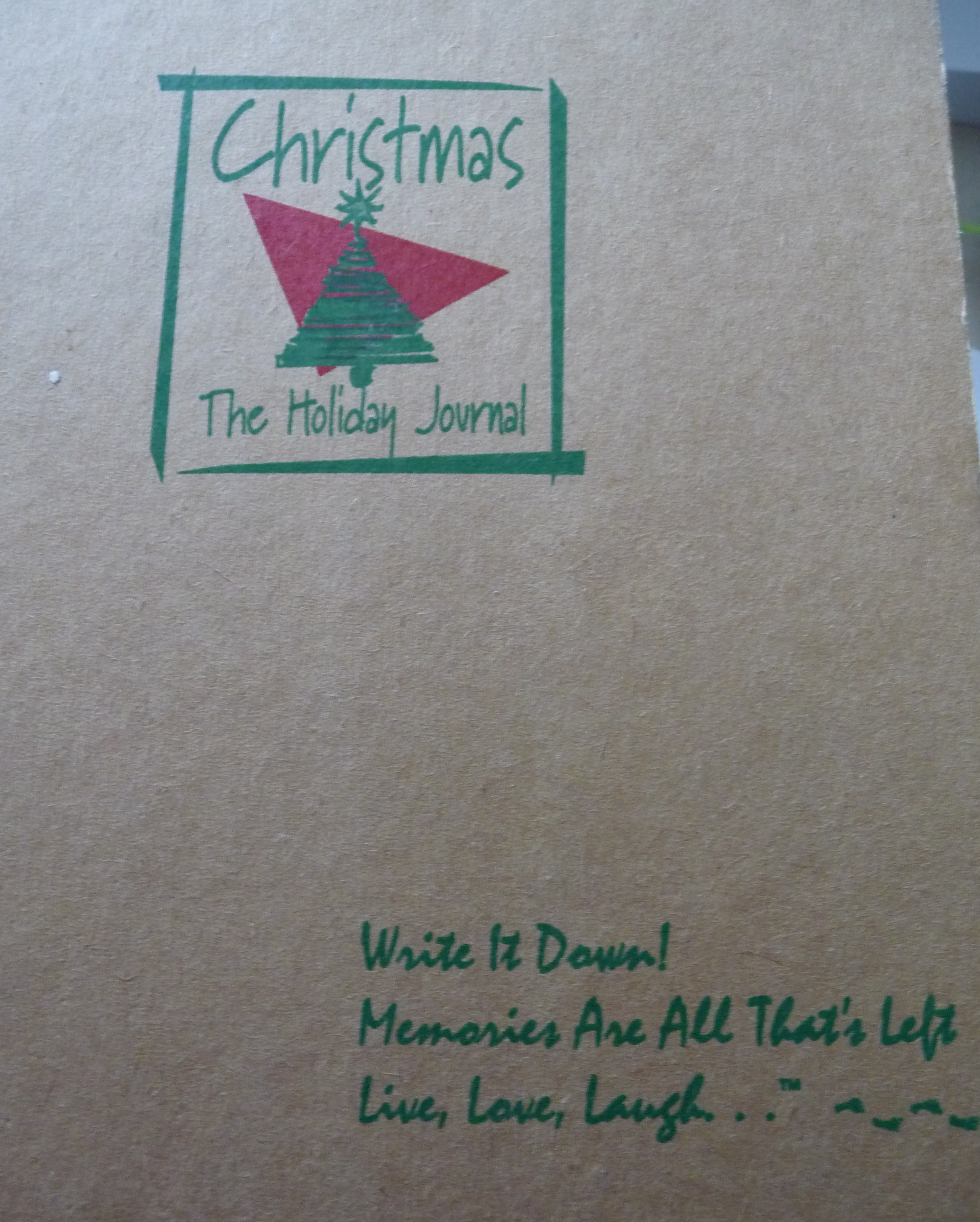 my Christmas Journal!