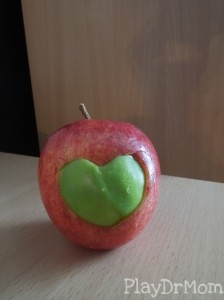 a hearty apple