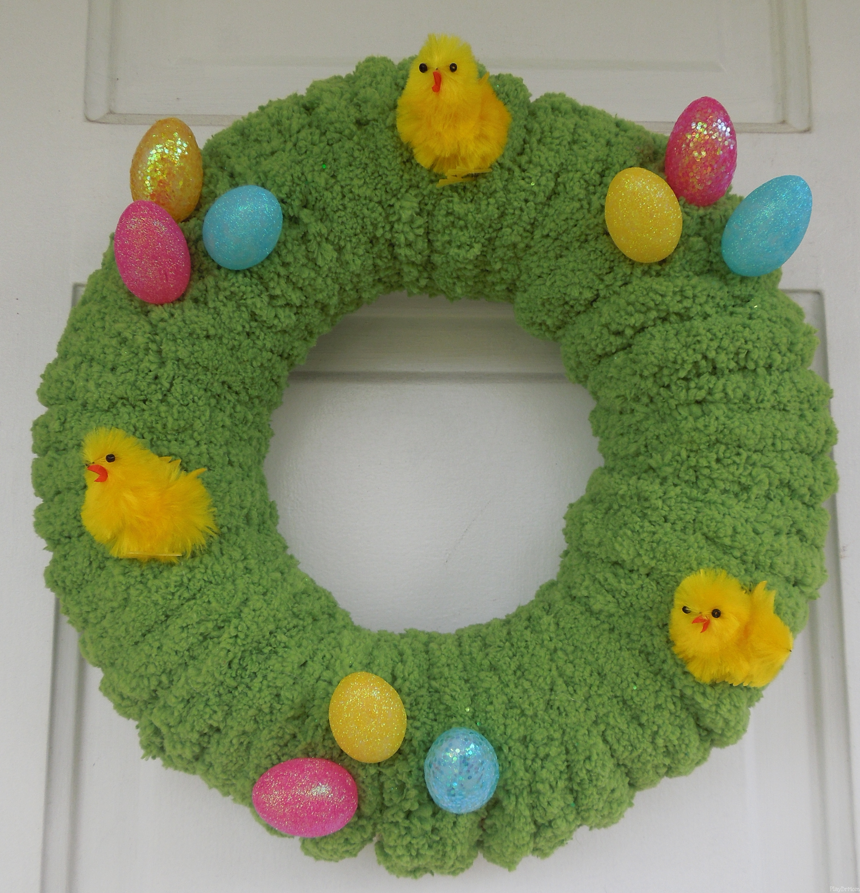 A Springtime Wreath