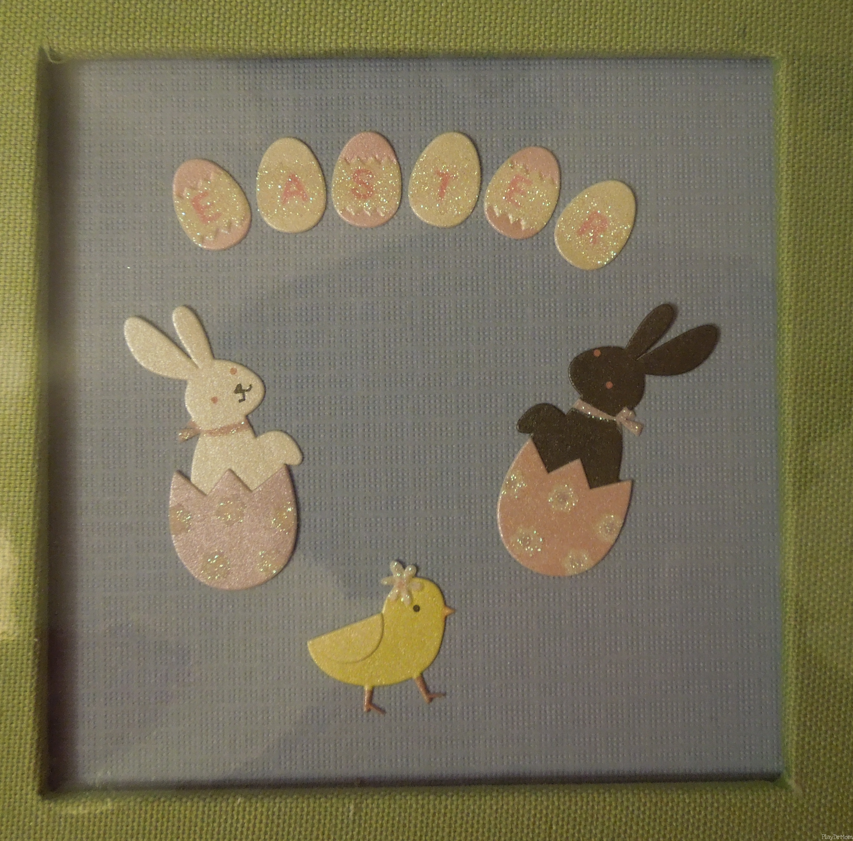Cover of the Easter Scrapbook