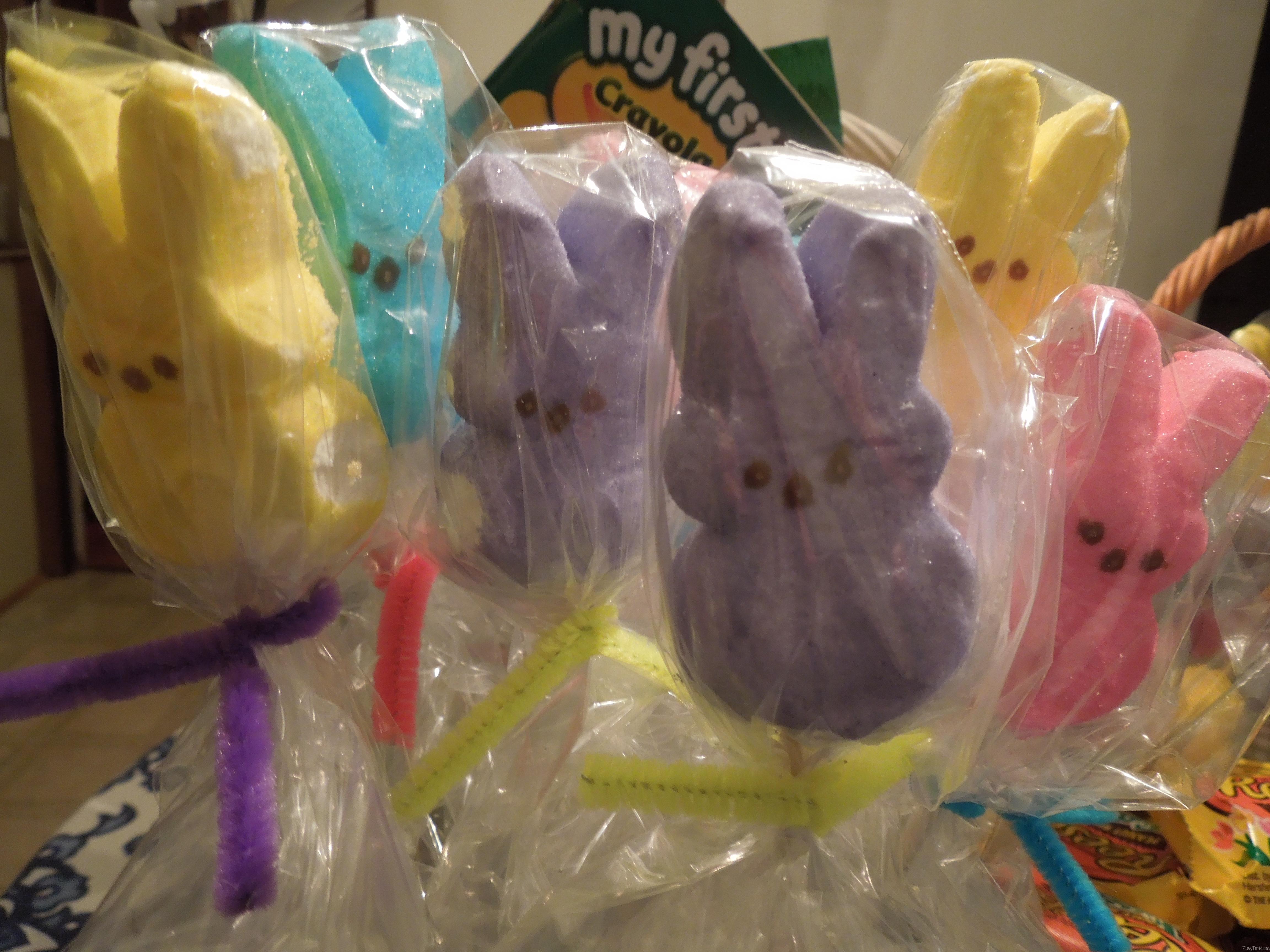 Peep Bunny Pops