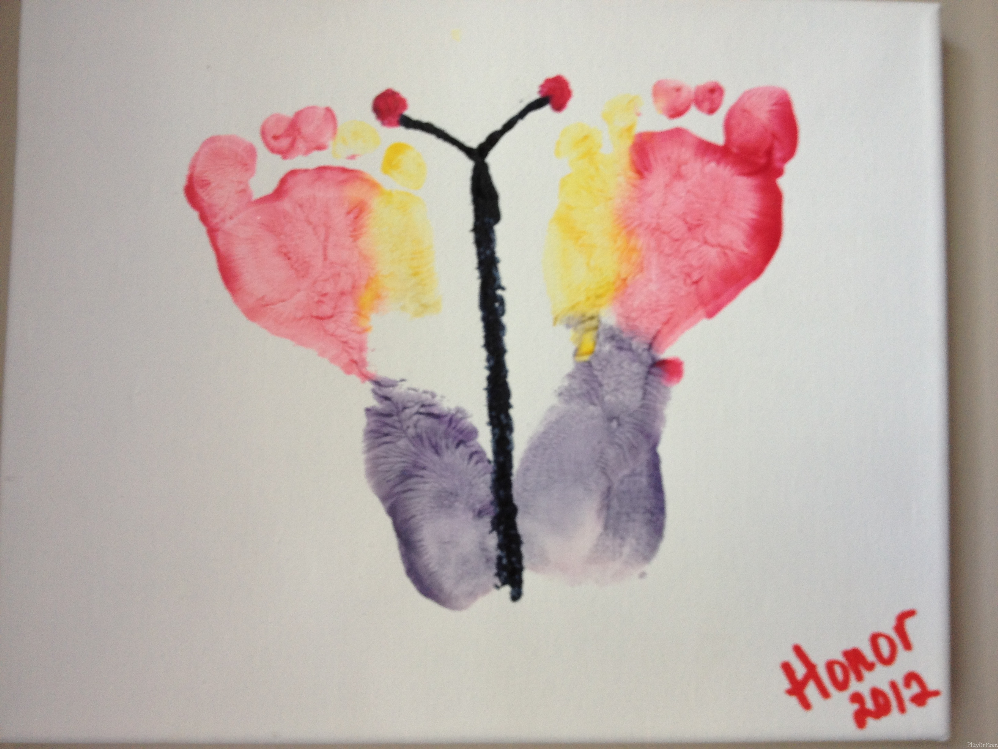 Footprint Butterfly from Honor