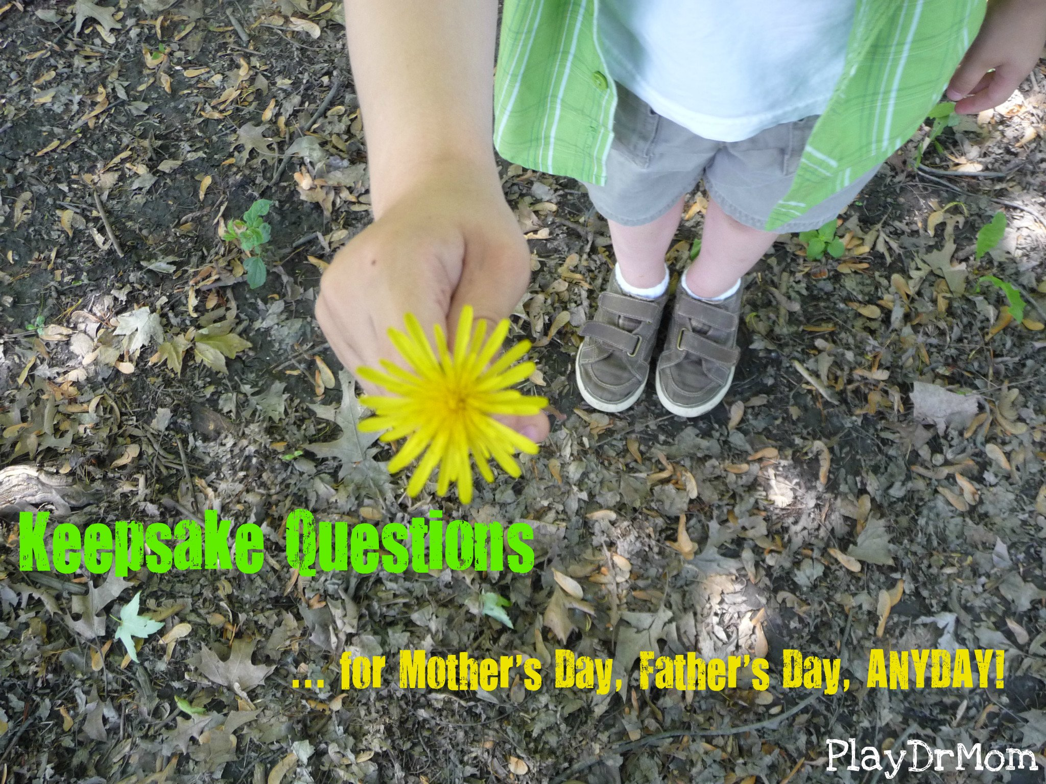 Keepsake Questions