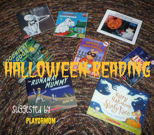 Fun books for Halloween Reading