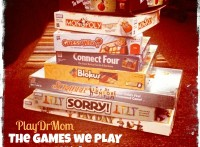PlayDrMom shares some MORE of her favorite games.  The GAMES we PLAY and WHY, part 2!