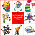 PlayDrMom's favorite toys for children 0-12 months