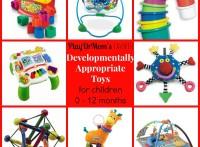 PlayDrMom's favorite toys for children 0-12 months