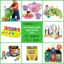 PlayDrMom's favorite toys for children 1 to 2 years