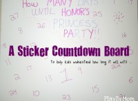 Sticker Countdown