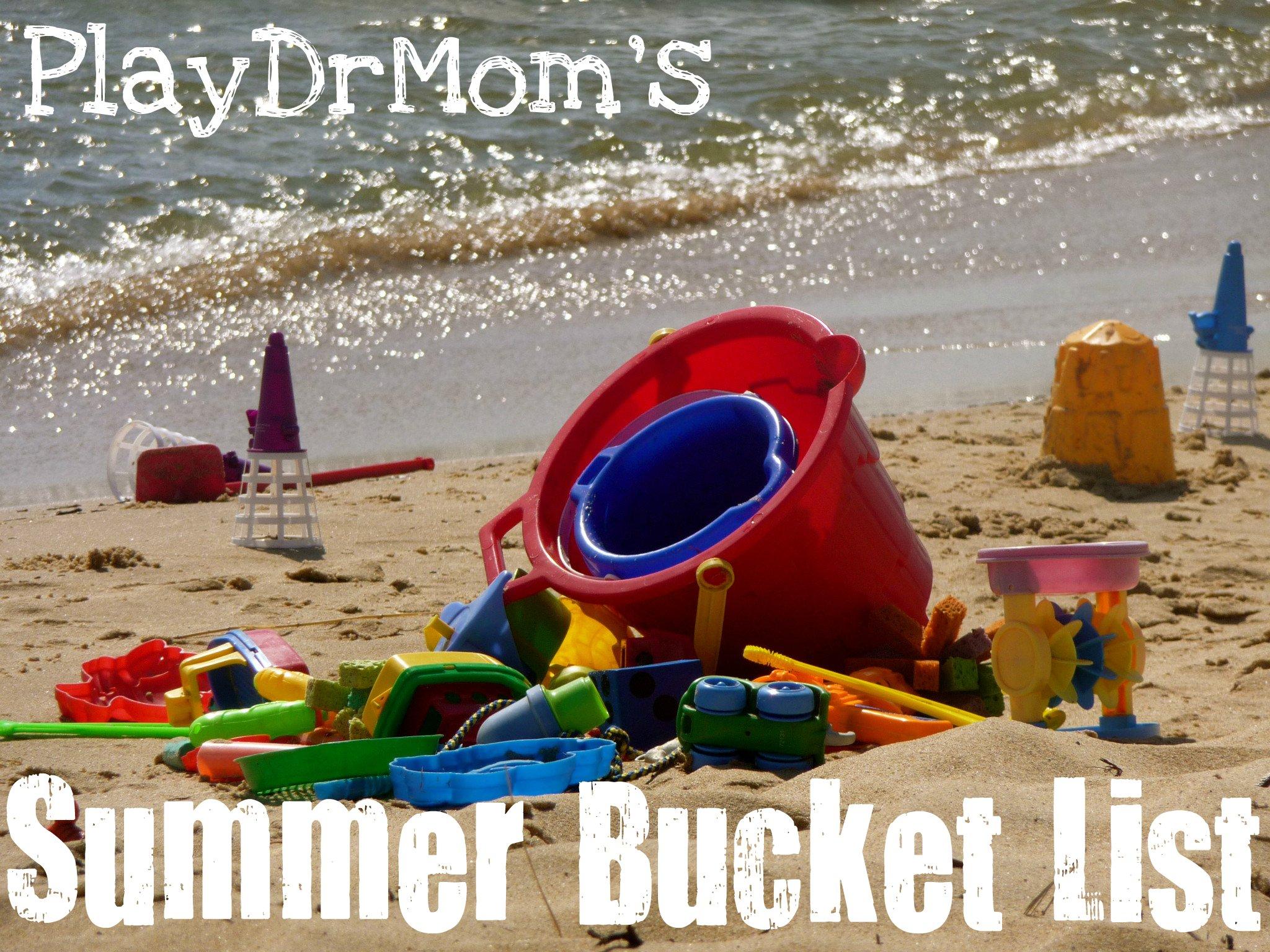 summer 2012 bucket list