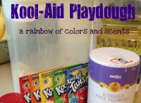 Kool-Aid Playdough
