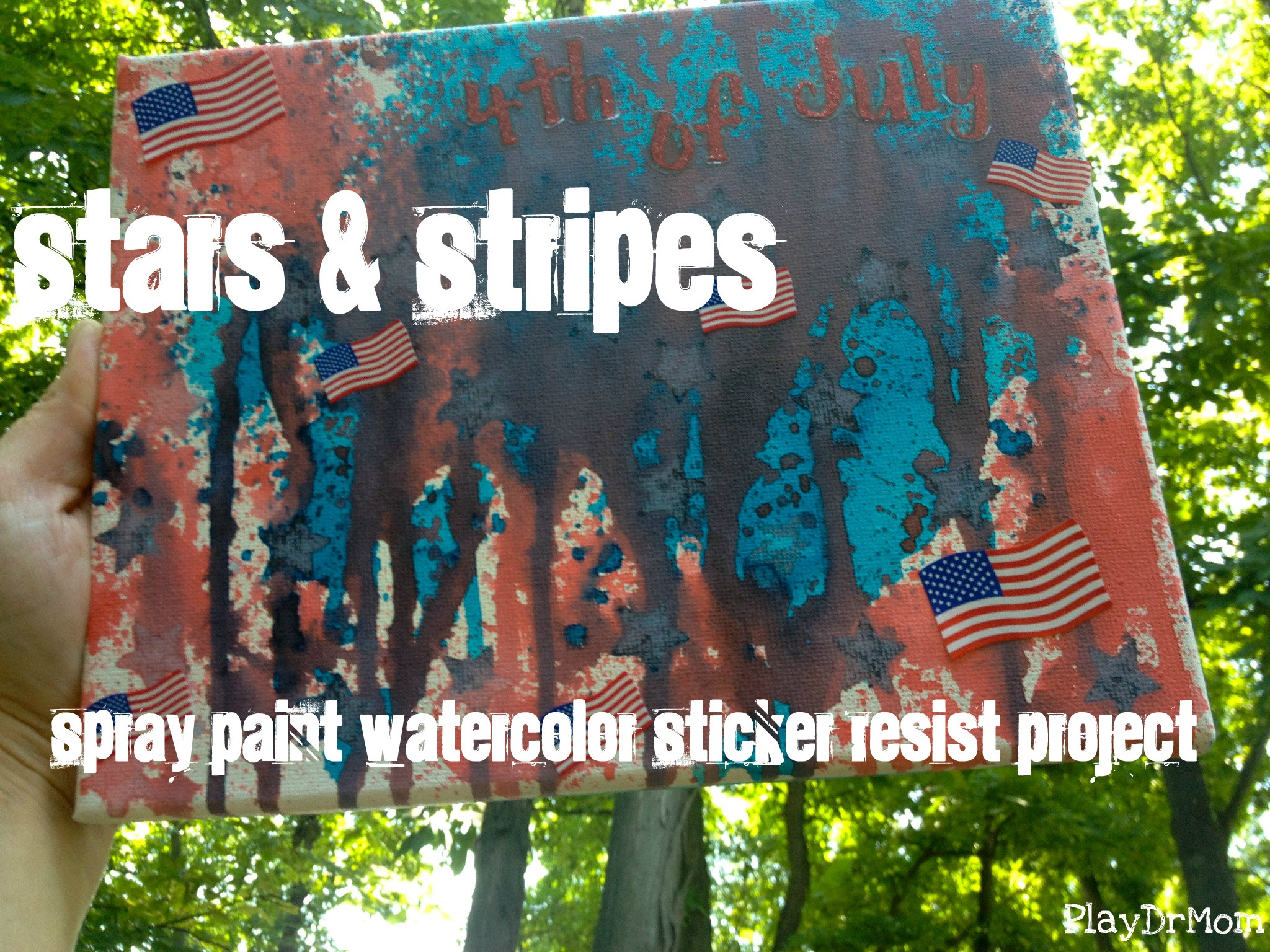 4th of July painting project