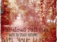 Fabulous Fall Fun