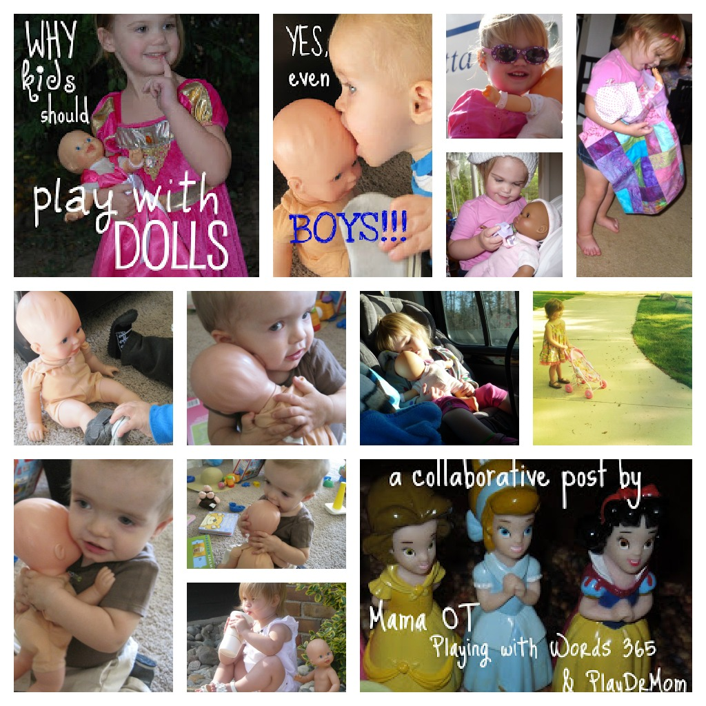 doll play Collage