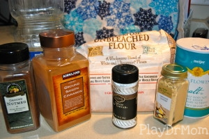 gingerbread playdough ingredients