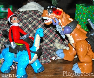 Dino and Elf Play