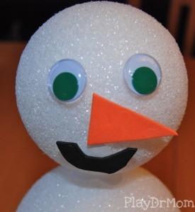 snowman's head