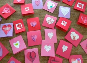Variety of Valentines