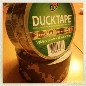 camo duck tape