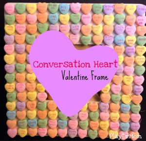 conversation heart frame