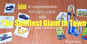 The Spiffiest Giant in Town matching game