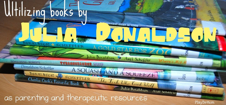Julia Donaldson therapy resources