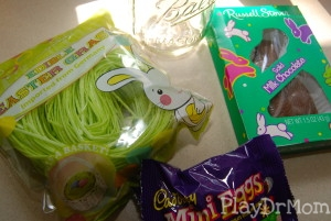 Easter in a Jar supplies