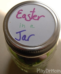 Easter label