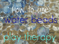 Water bead in Play Therapy