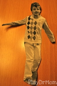 cut out kid