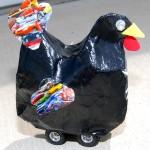 Hen on Wheels