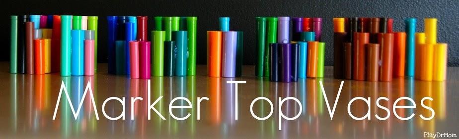 marker top vases