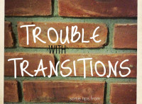 Trouble with Transitions: PlayDrMom offers some tips on helping kids switch gears