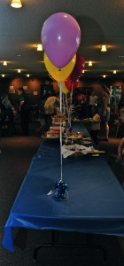 Alphabet party set up
