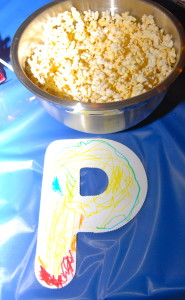 P is for Popcorn