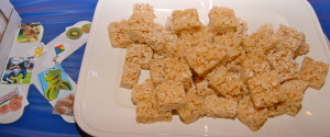 K is for rice Krispy treats