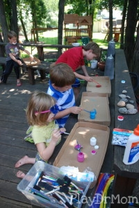 Painting the Rock Spiders