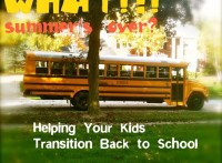 Helping Kids Transition Back to School