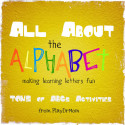 PlayDrMom rounds up a ton of alphabet activities for kids.