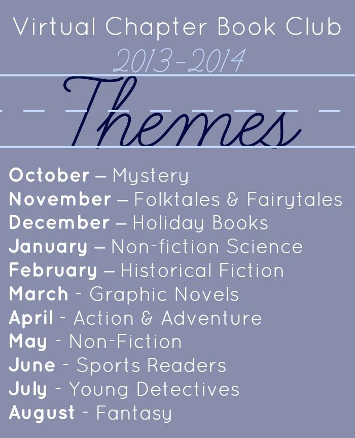 Virtual Chapter Book club for Kids themes