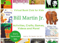 Bill Martin Jr. Virtual Book Club for Kids Starts September