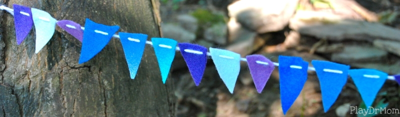 Fairy Village Garden Party Banner