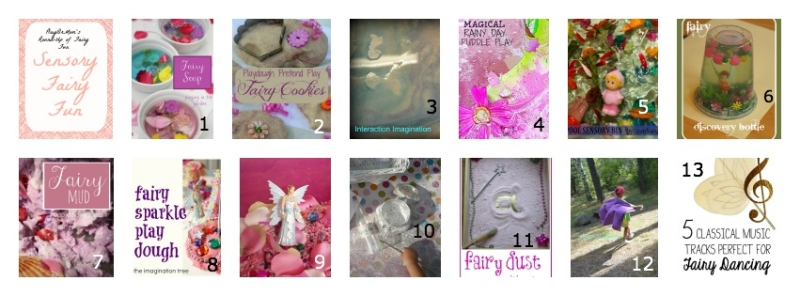 Part of PlayDrMom's Round-Up of Fairy Fun: sensory play