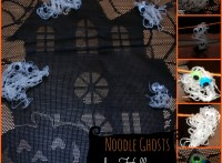 PlayDrMom's noodle ghosts