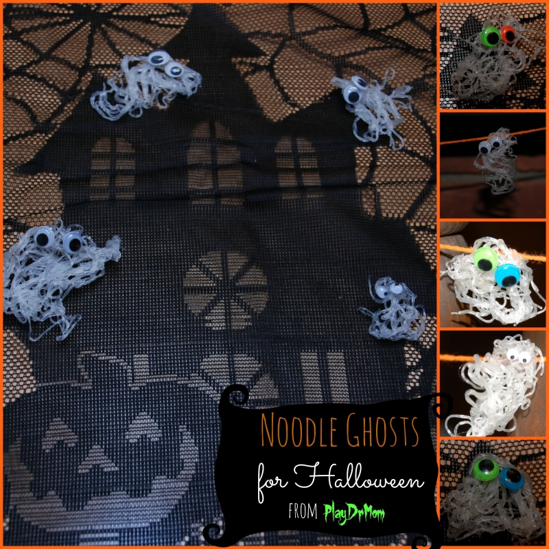 PlayDrMom's noodle ghosts