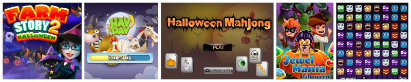 other halloween game apps
