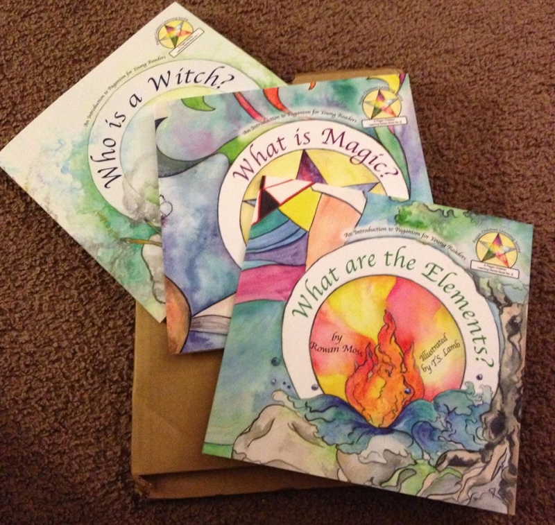 3 books of the Pagan Children Learning Series