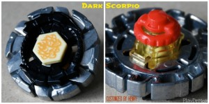 Dark Scorpio Customized Beyblade